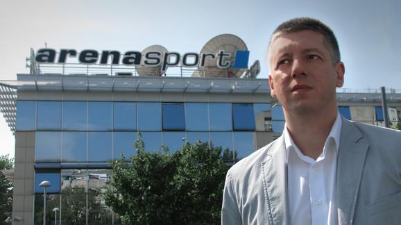 Novinar TV Arena Nenad Milovanović