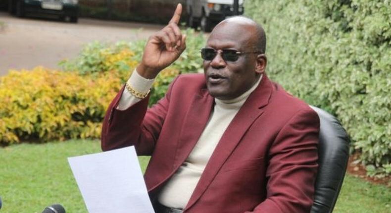 Former Machakos Senator Johnston Muthama
