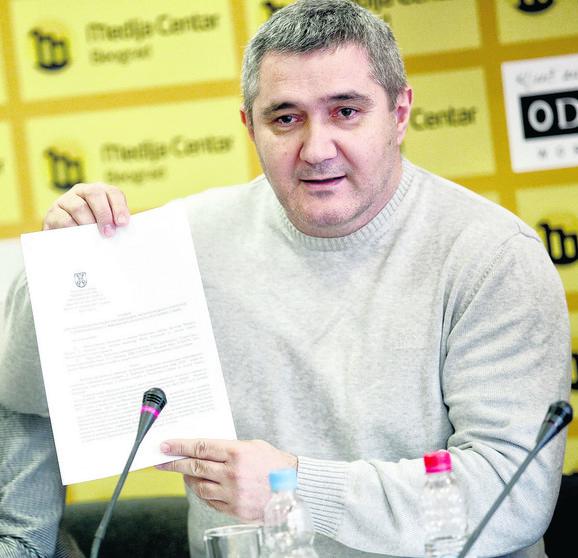 Pokazao da je za master plan plaćeno 58.554 dinara, ali tog novca nema u finansijskoj izveštaju EUSA: Siniša Jasnić