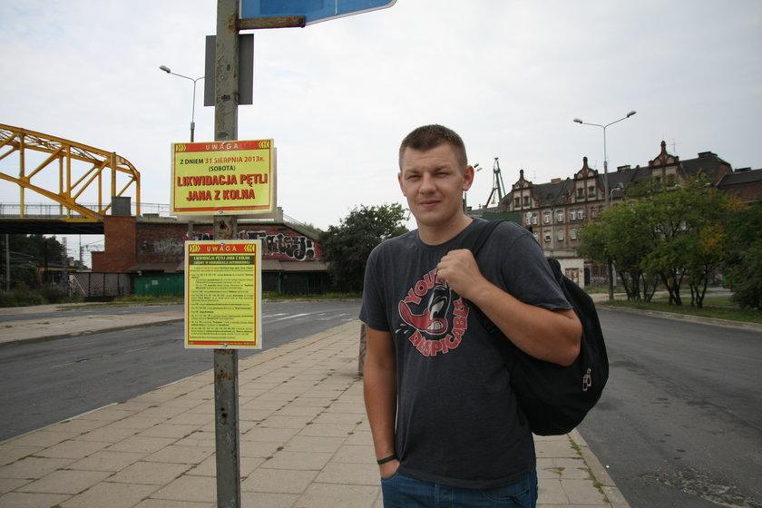 Kamil Gasiewski, pasażer
