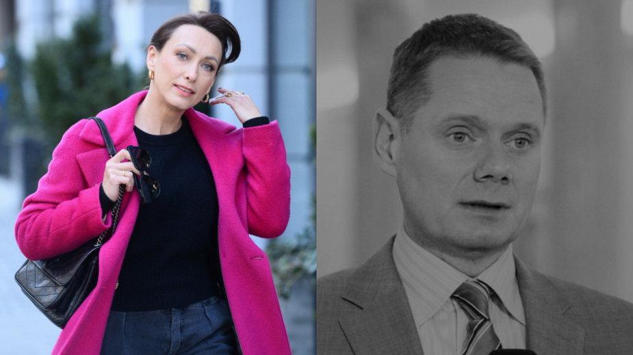 Anna Kalczyńska (fot. VIPHOTO/East News) i Rafał Poniatowski