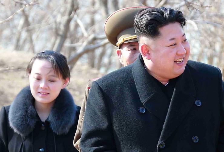 Kim Džong Un i Kim Jo-Džong