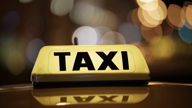 Skontrolowano... siedem taksówek