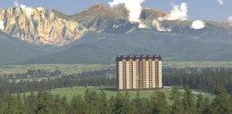 Turyści w szoku. 16-piętrowy wieżowiec zasłoni Tatry