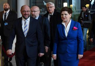 Strasburg: Zakończyło się spotkanie Szydło-Schulz