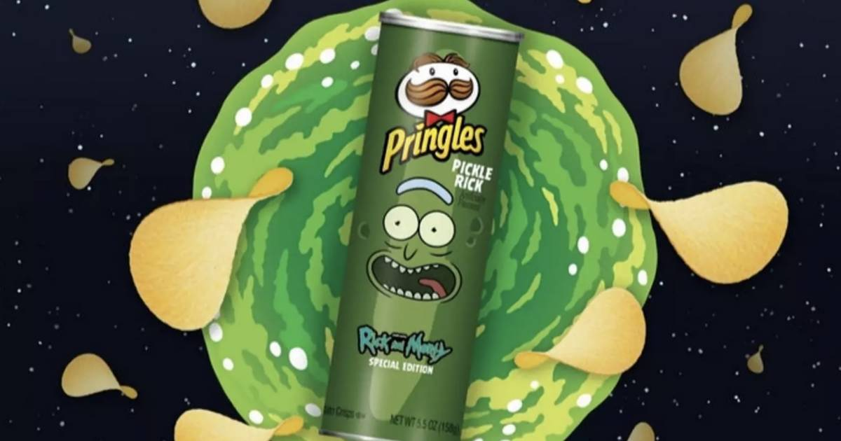 """""""Rick And Morty"""" und Pringles bringen Pickle-Rick-Chips raus!"""