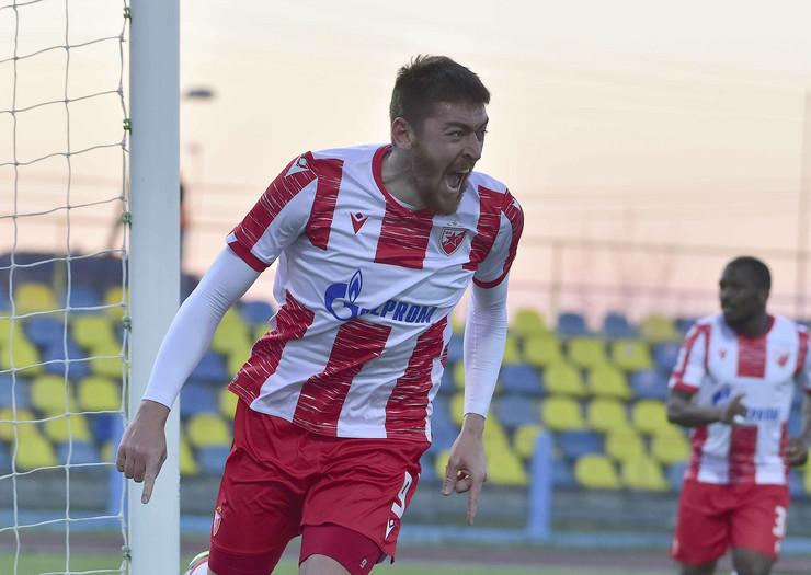 Detalj sa meča FK Crvena zvezda - TSC