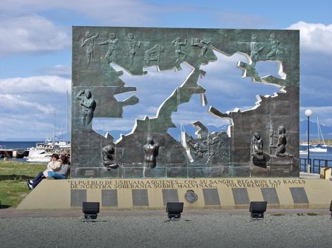 Spomenik poginulim mornarima u Argentini