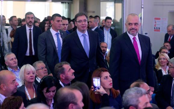 Forum otvorili premijeri Srbije i Albanije