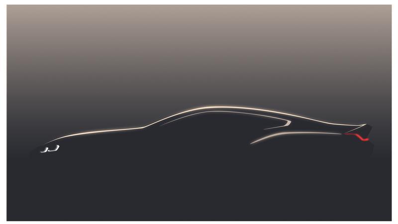 BMW koncept serii 8 Coupe - pierwszy szkic