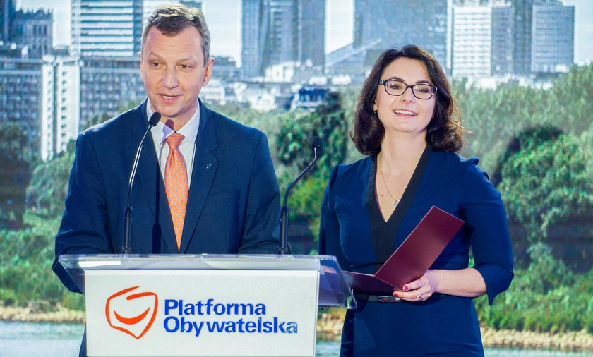 Andrzej Halicki i Kamila Gasiuk-Pihowicz