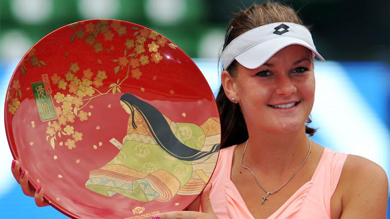 Turniej WTA w Tokio: Triumf Agnieszki Radwańskiej