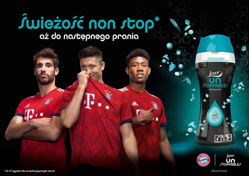 Lenor Unstoppables i FC Bayern Monachium –niepokonany duet dla świeżości, której trudno się oprzeć!