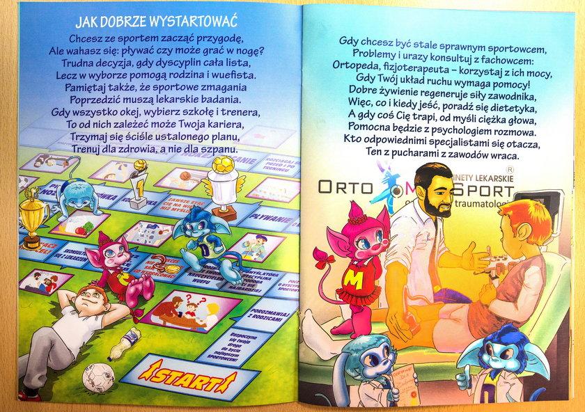 Ortopeda napisał książkę dla dzieci