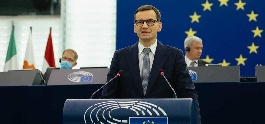 Mateusz Morawiecki w Parlamencie Europejskim: Nie zgadzam się na szantażowanie Polski