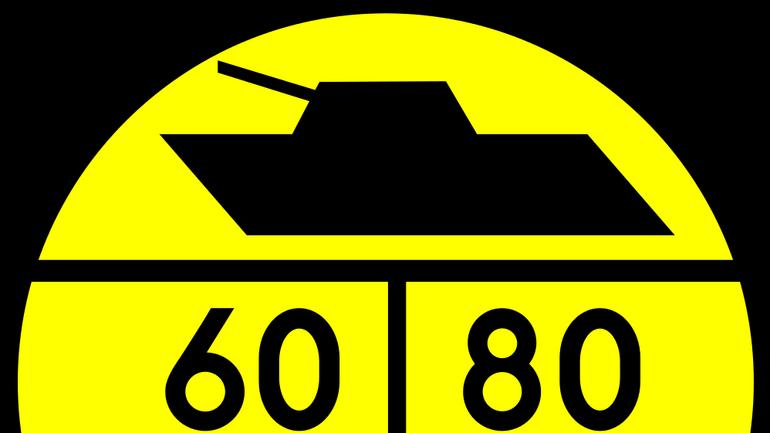 Znaki informacyjne dla kierowców pojazdów wojskowych