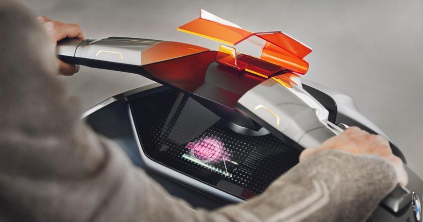 Elektryczny skuter BMW to nowy model wchodzący w skład linii Vision Next 100