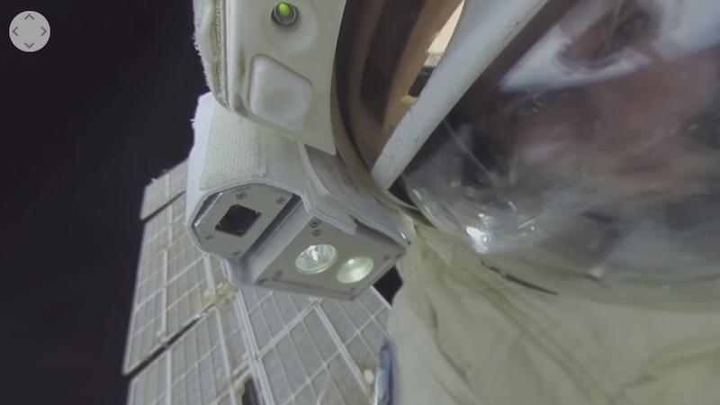Rosjanie udostępnili pierwszą realcję 360 stopni z kosmicznego spaceru
