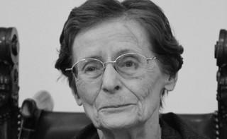 Zmarła Zofia Bartoszewska, wdowa po Władysławie Bartoszewskim