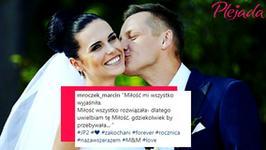 """Marcin Mroczek wspomina ślub. """"Na zawsze razem"""""""