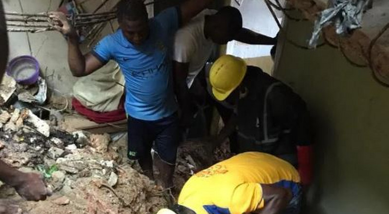2 kids trapped in another building collapse in Lagos found dead