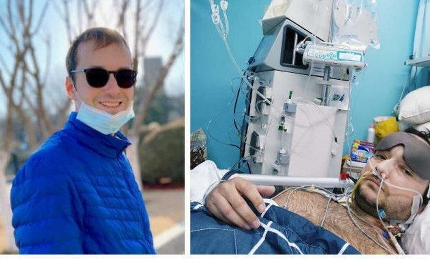 Wojciech Ilkiewicz przebywa chory w Chinach