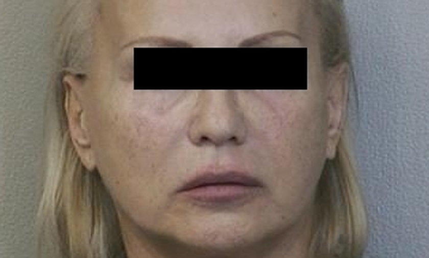 Janina Drzewiecka zdjęcie z aresztu