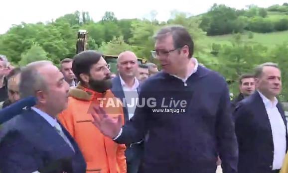Vučić obišao Novi Pazar-Tutin