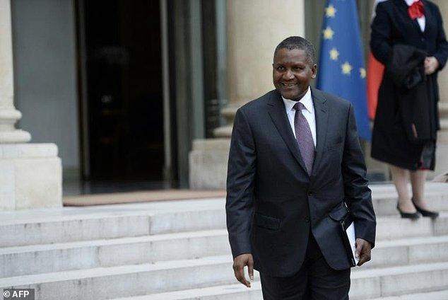 Aliko Dangote, President of Dangote Group