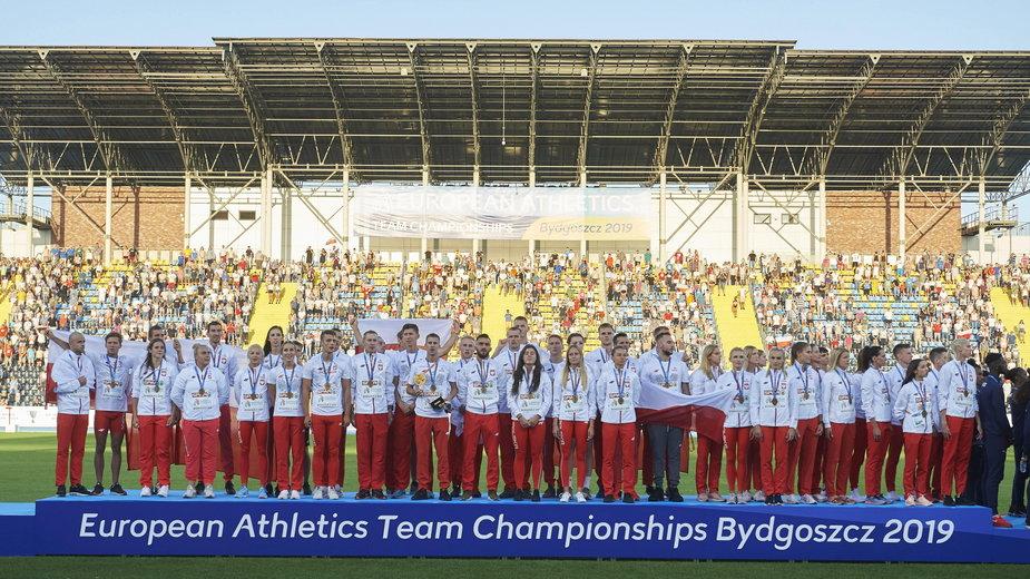 Polacy na podium Drużynowych Mistrzostw Europy