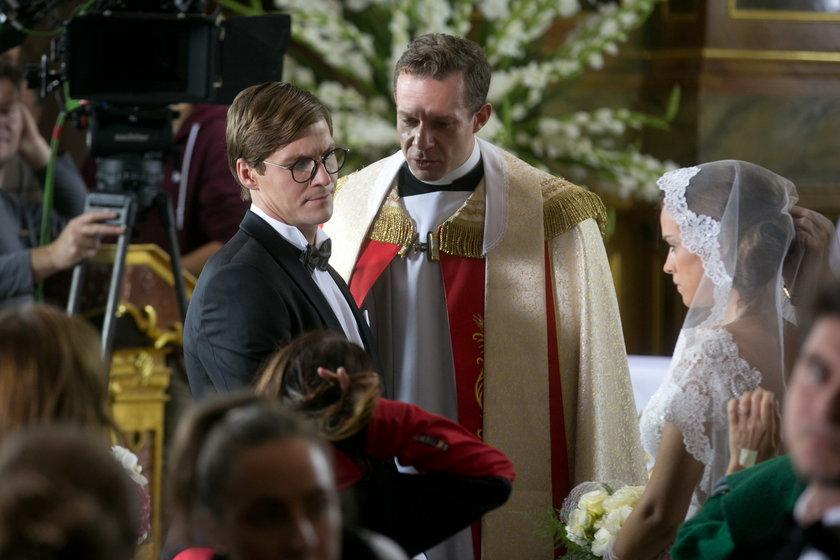 Alicja Bachleda-Curuś na ślubie