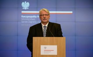 Waszczykowski: Może komisarze UE powinni się zmieniać wraz ze zmianą rządu