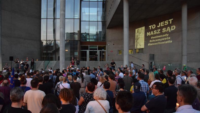KOD nie dostał zgody na protest przed SO w Katowicach
