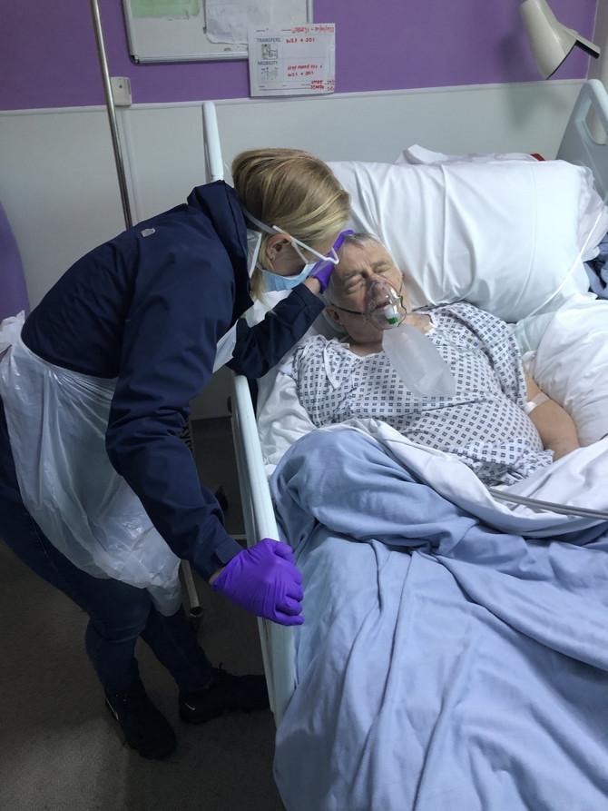 Sofija Majls sa ocem Piterom
