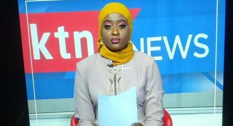 Hadiya Mwasiwa at KTN