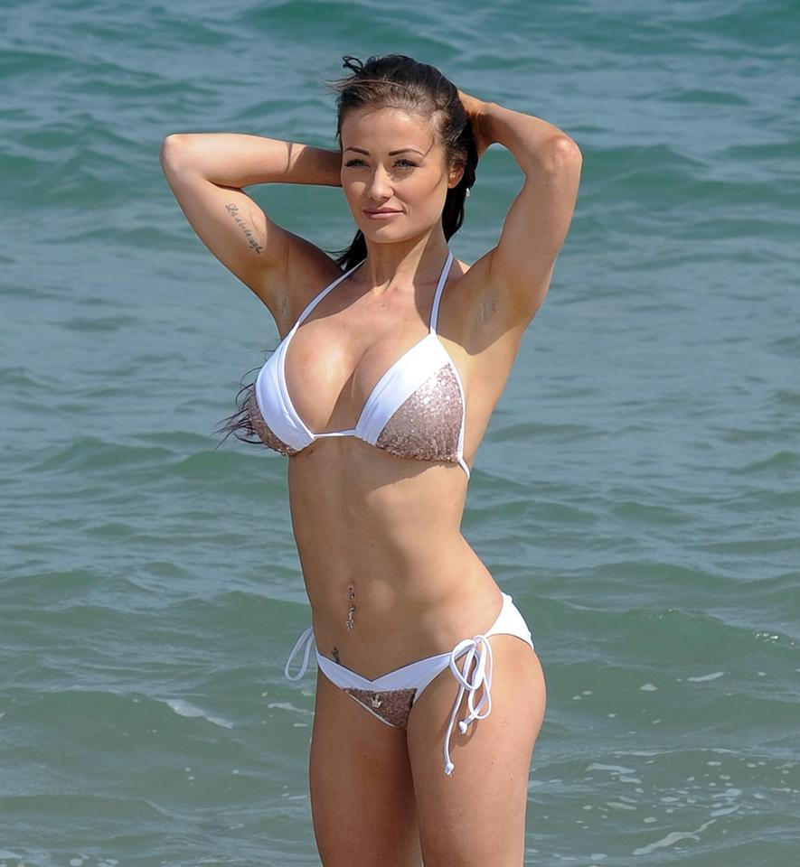 braless Bikini Jess Impiazzi naked photo 2017