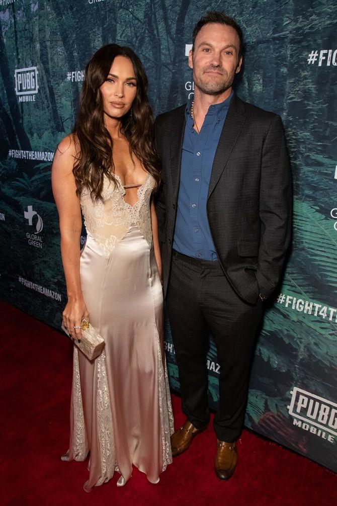 Megan sa suprugom Brajanom