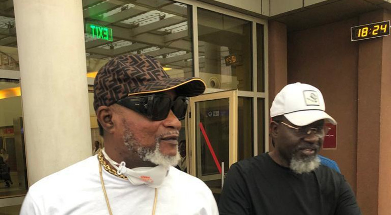 Koffi Olomide in Nairobi days after Government lifted deportation order (Photos)