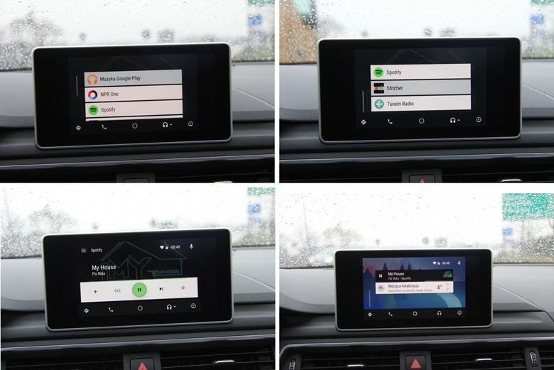 Audi A4 2016 Android Auto multimedia