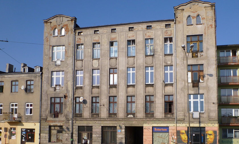 Kamienice do remontu w Łodzi