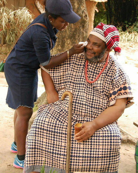 Pete Edochie is a multiple award-winning actor, and he's considered one of Africa's most talented actors. [Instagram/PeteEdochie]