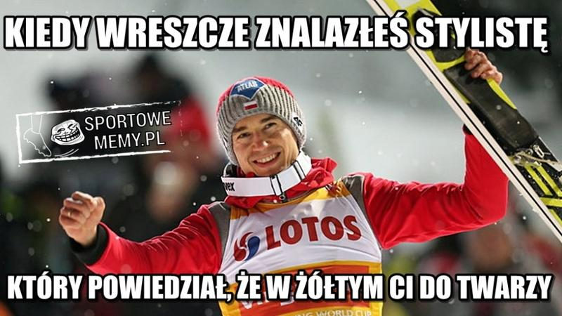 PŚ w Zakopanem: Kamil Stoch znów triumfuje. Memy po wygranej Polaka