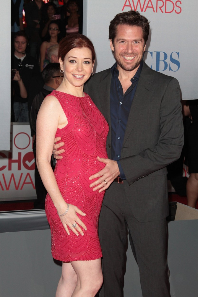 Glumica sa suprugom