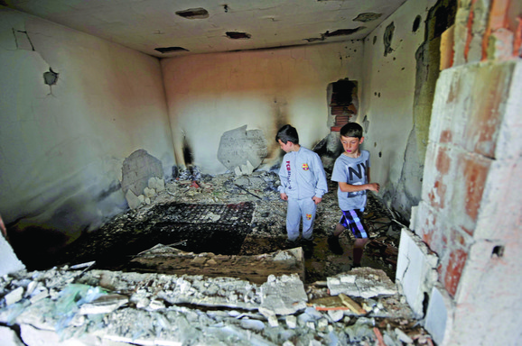 Uništena kuća posle napada u Kumanovu