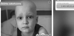 Udało się zebrać pieniądze na leczenie, nie udało się uratować życia.7-letni Bruno nie żyje