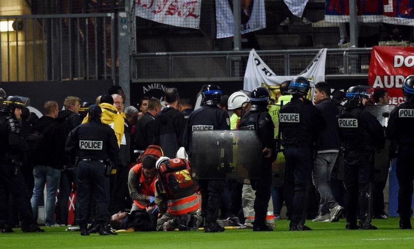 Wypadek na trybunach w Amiens