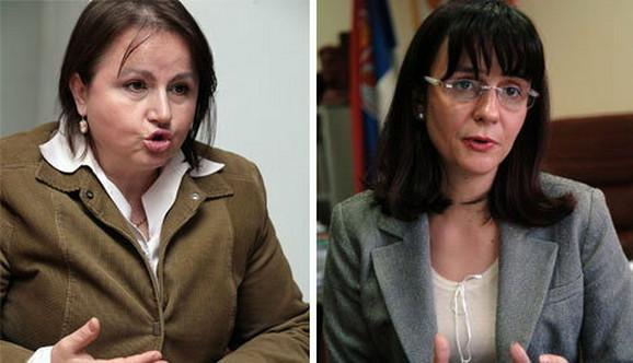 Dragana Boljević i Snežana Malović