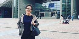 Ewa Kopacz wystroiła się do nowej pracy