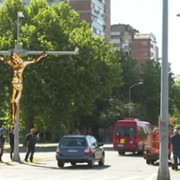 Raspeće Isusa Hrista na Novom Beogradu