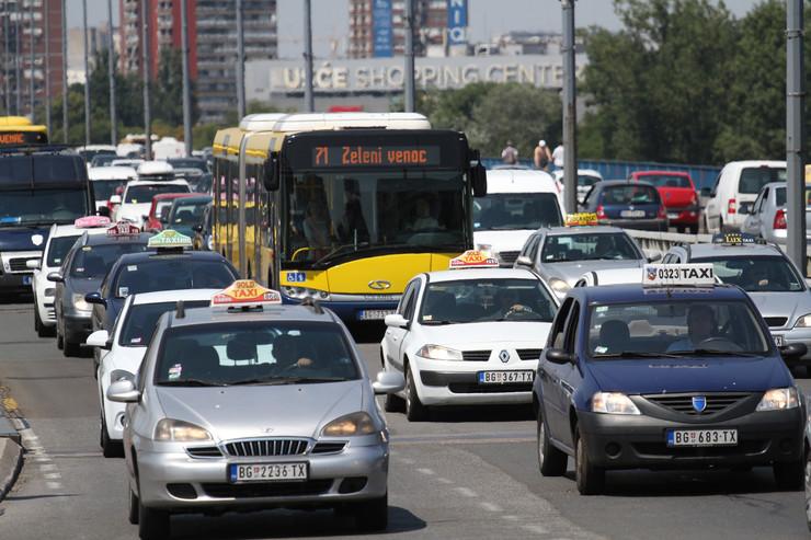 taksisti brankov most